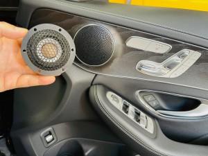 ram2 ベンツ ドアスピーカー スピーカー交換 ツイーター追加 ツイーター交換 音質向上 ブルメスター コーディング イージーエントリー シート退避 有効化 Mercury Car Audio Audible Physics RAM2 M40 インナーバッフル デッドニング W205 W213 W222 Cクラス Eクラス Sクラス HOT WIRED 名古屋 愛知
