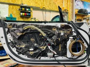 マツダ純正BOSE ボースサウンド BOSEサウンド NDロードスター 純正BOSE スピーカー交換 ツイーター交換 ヘッドレスト ツイーター埋め込み 名古屋 ホットワイヤード Mercury Car Audio