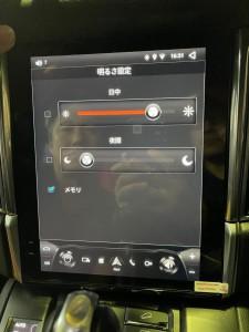 ポルシェ マカン テスラナビ アンドロイドナビ 10.4インチモニター ナビ交換 大型モニター テスラ CarPlay グーグルマップ netflix fulu amazon apple iPhone バックカメラ 純正クラリオン ポルシェ純正ナビ PCI カイエン HOT WIRED 名古屋