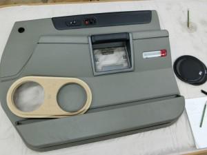 HUMMER H2 ドアスピーカー ツイーター スピーカー交換 ツイーター交換 カスタムカーオーディオ アウターバッフル ピラー埋込 Mercury Car Audio C62