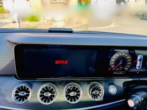 ベンツ CarPlay アンドロイドBOX ANDROID AI BOX メディアボックス VISIT 動画再生 動画アプリ Netflix Youtube プライムビデオ  Amazon ミラーリング