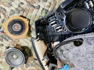 ベンツ 純正スピーカー ドアスピーカー スピーカー交換 ツイーター Audible Physics RAM2 デッドニング ツイーターがない 音質向上 W205 W222 W213 GLC Sクラス Cクラス Eクラス Gクラス ブルメスター BURMESTER  音質改善 カーオーディオ