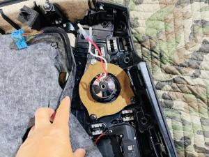 ベンツ 純正スピーカー ドアスピーカー スピーカー交換 ツイーター Audible Physics RAM2 デッドニング ツイーターがない 音質向上 W205 W222 W213 GLC Sクラス Cクラス Eクラス Gクラス ブルメスター BURMESTER  音質改善 カーオーディオ デッドニング