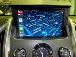 キャデラック 純正ナビ 後付けCarPlay ワイヤレスCarPlay ミラーリング SRX エスカレード コルベット カマロ マスタング GM アメ車 外部入力 Bluetooth 映像入力