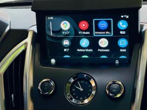 キャデラック 純正ナビ 後付けCarPlay ワイヤレスCarPlay ミラーリング SRX エスカレード コルベット カマロ マスタング GM アメ車 外部入力 Bluetooth 映像入力 Android Auto