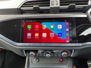 AUDI CarPlay 後付けCarPlay Apple CarPlay ワイヤレス iPhone Android Auto 無線化 有効化 コーディング アウディ MMI インストール ミラーリング 動画再生 YOUTUBE Netflix プライムビデオ CarPlayインターフェース CarPlayモジュール 標準装備 純正 カープレイ 名古屋