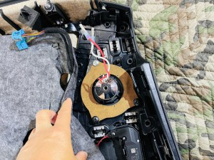 w205 ベンツ cクラス スピーカー交換 ドアスピーカー ツイーター