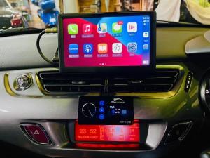 シトロエン C3 C4 スピーカー交換 ツイーター交換 デッドニング 音質向上 カーオーディオ カープレイ CarPlay Bluetooth サブウーハー  DAP 外部入力 デジタル入力 iPhone スマホ ミラーリング Android Auto