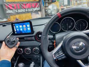 マツダ マツコネ CarPlay カープレイ 動画再生 アンドロイド Youtube Netflix プライムビデオ  アンドロイドBOX VISIT メディアボックス