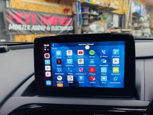 マツダ マツコネ CarPlay カープレイ 動画再生 アンドロイド Youtube Netflix プライムビデオ  アンドロイドBOX プレイストア