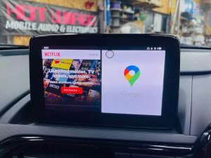 マツダ マツコネ CarPlay カープレイ 動画再生 アンドロイド Youtube Netflix プライムビデオ  アンドロイドBOX 純正カープレイ