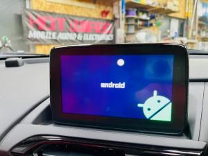 マツダ マツコネ CarPlay カープレイ 動画再生 アンドロイド Youtube Netflix プライムビデオ  アンドロイドBOX ANDOROID9.0