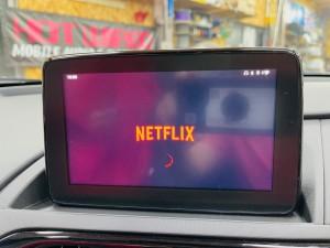 マツダ マツコネ ネットフリックス CarPlay カープレイ 動画再生 アンドロイド Youtube Netflix プライムビデオ  アンドロイドBOX