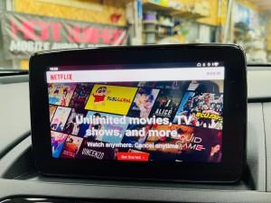 マツダ マツコネ CarPlay カープレイ 動画再生 アンドロイド Youtube Netflix プライムビデオ  アンドロイドBOX AIボックス