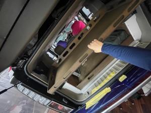 SUV 四駆 トランク カーゴスライド キャンパー 車中泊 ベッド スライド 引き出し ミニバン HUMMER H2 2段ベッド